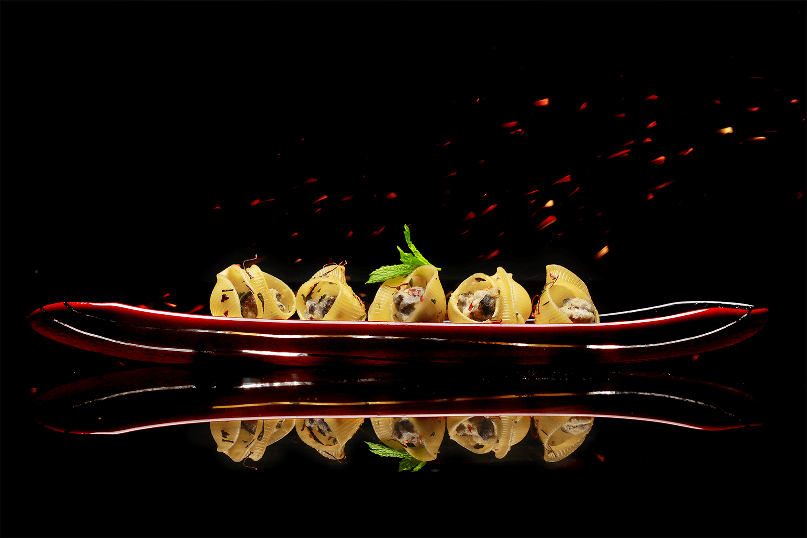 Snails with Spinach