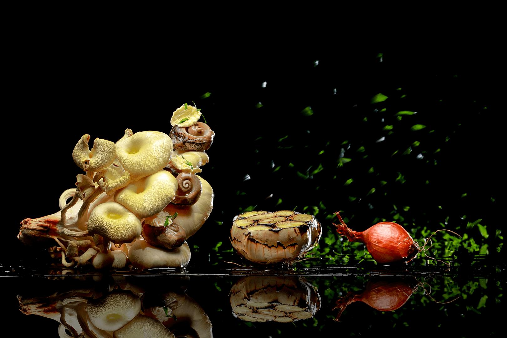 Creamy Garlic Snails